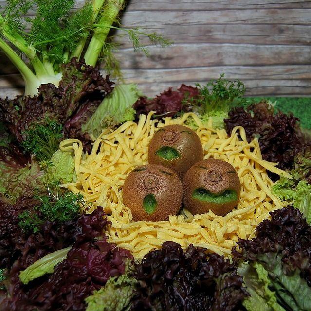 Free Image on Pixabay - Kiwi, Fruit, Vegetables, Salad