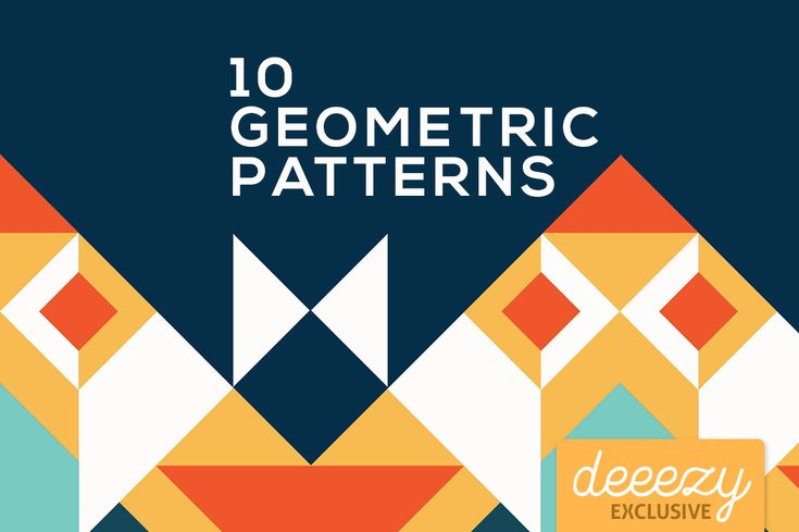 Colorful Geometric Patterns   Deeezy - Freebies with Extended License