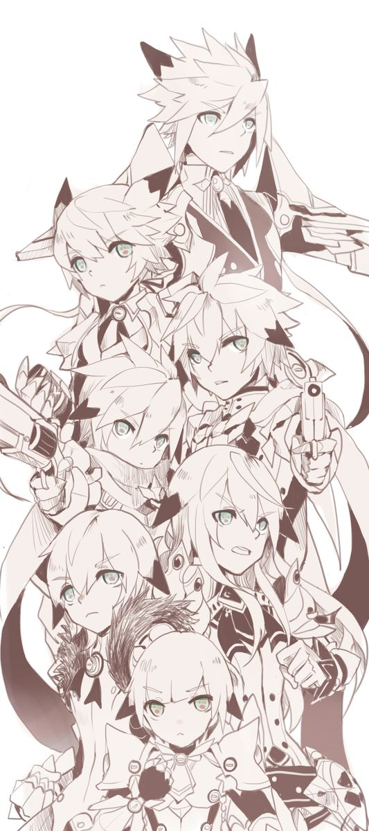 Chung (Todas sus clases) (Elsword)