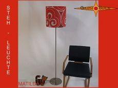 Stehlampe im Pantonstil MATILDA Vintagedesign Lampe - eine ganz besondere Stehleuchte von Gruzdz-Berlin