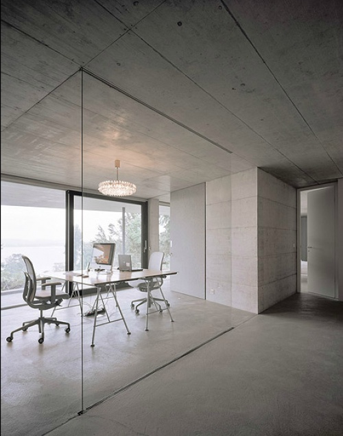 Untersee is a minimalist home designed by