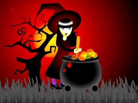 Babelzone French song - 'Pour faire une soupe' - Halloween themed - Learn French Online
