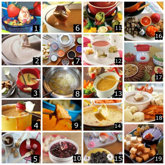 Unbelievably HUGE resource for fondue ideas, recipes, history, etc.
