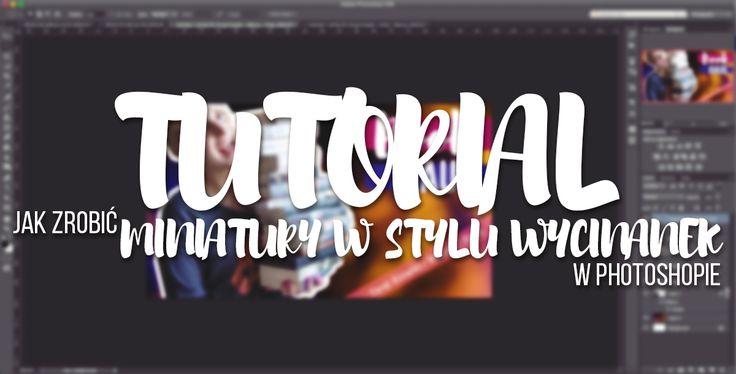 Tutorial | Miniaturki w stylu wycinanek - Photoshop http://bit.ly/Tutorial_Miniatury