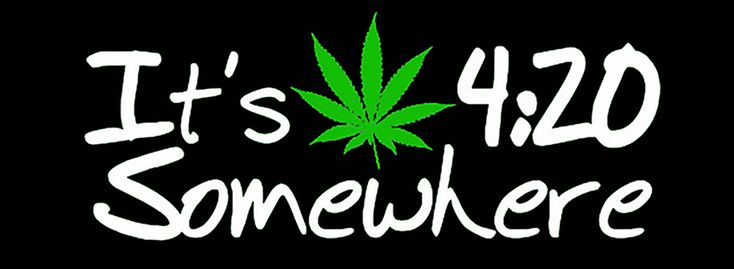 I like to say I discovered 420, because it's true. It happened at a Grateful Dead show in Oakland in 1990 when I was working for High Times.