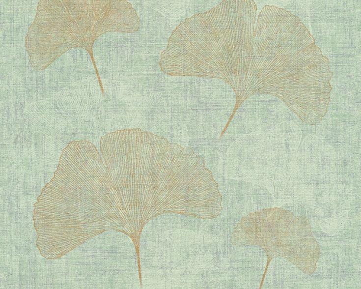 Die besten 25+ Blätter Tapeten Ideen auf Pinterest tropischer - wohnzimmer tapete grun
