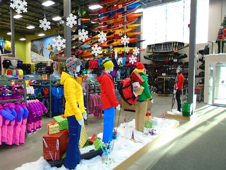 Prêts pour l'hiver en magasin / Our stores are ready for ...