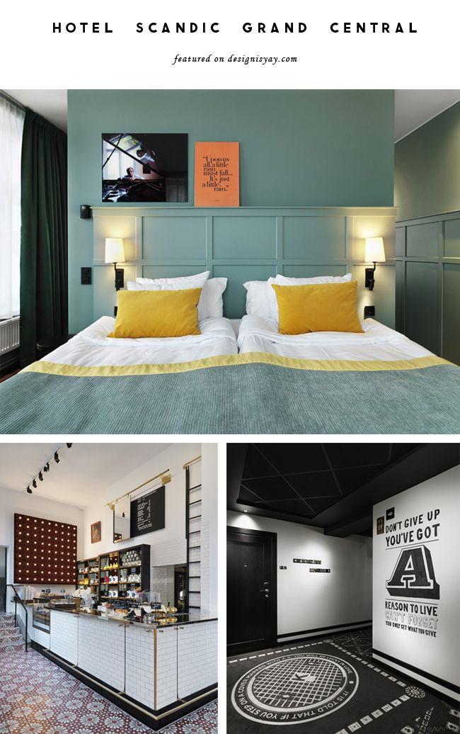 Destination Style : Hotel Scandic Grand Central Stockholm