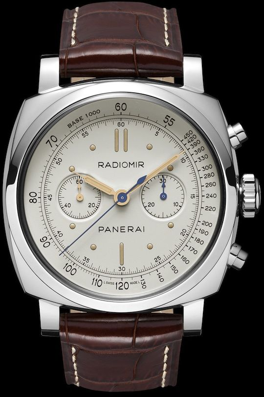 Panerai PAM 518 Radiomir 1940 Chronograph Platino. Priced at a quite outrageous level though :-)