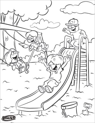 LeapFrog SchoolThemed Coloring Pages Kindergarten