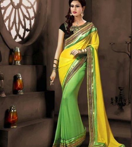Buy Designer Sarees : Designer khwaab saree online