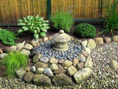 foto jardin pequeño zen japones