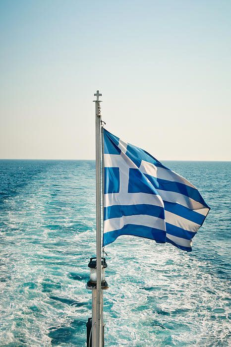 Sailing in the Aegean Sea...