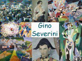 Leuke en informatieve powerpoint over Gino Severini voor 5, deze en nog vele andere kun je downloaden op de website van Juf Milou.