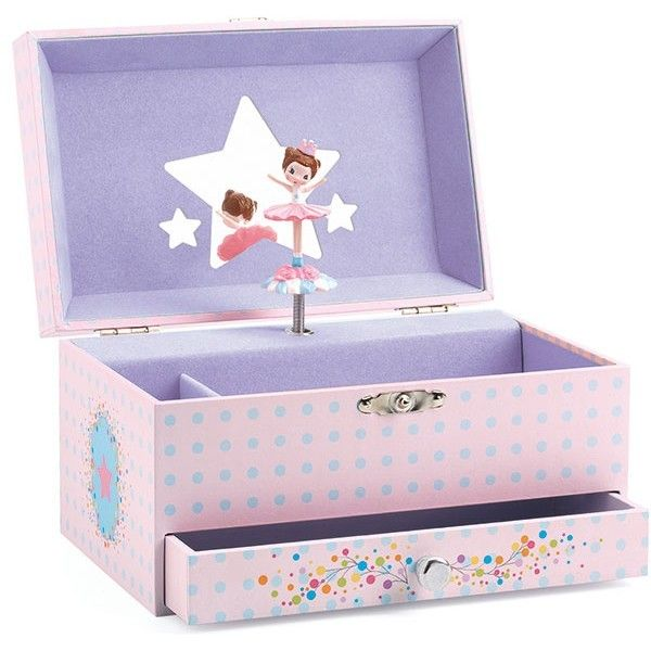 Djeco - Musical Jewellery Box Ballerina For all those precious treasures only a ballerina will do #EntropyWishList #PinToWin