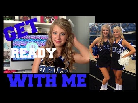 Get Ready With Me- First Home Football Game 2014 - YouTube