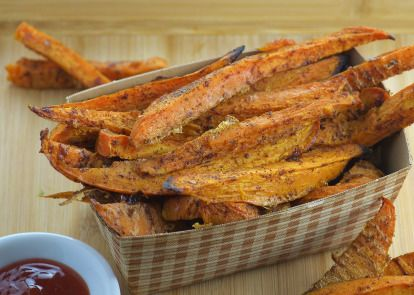 Make and share this Sweet Potato Fries recipe from Genius Kitchen.