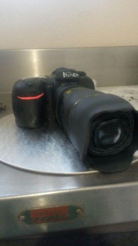 Nikon camera cake www.bakentake.co.za