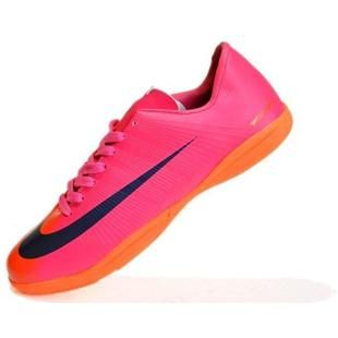 http://www.asneakers4u.com New Nike Mercurial Vapor Superfly II Victory IC Indoor Soccer football Cleats In Red Blue Orangeout of stock