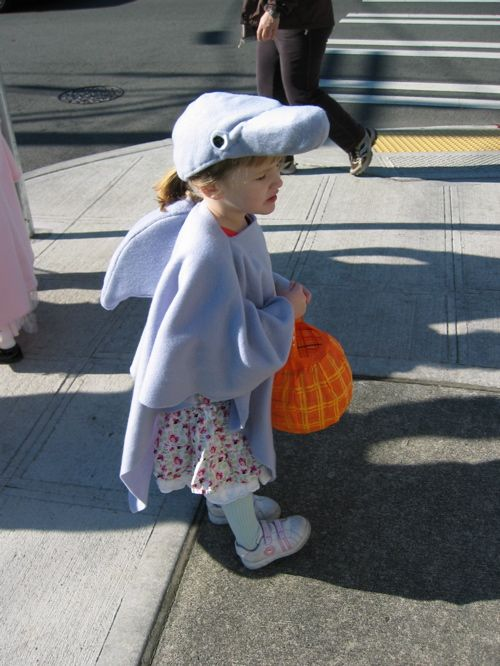 Finding inspiration for my daughter's Dolphin costume.