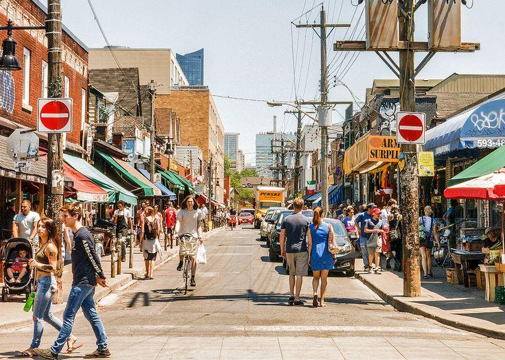 https://flic.kr/s/aHskVtnwLq | Kensington Market | A free-spirited district in Toronto.