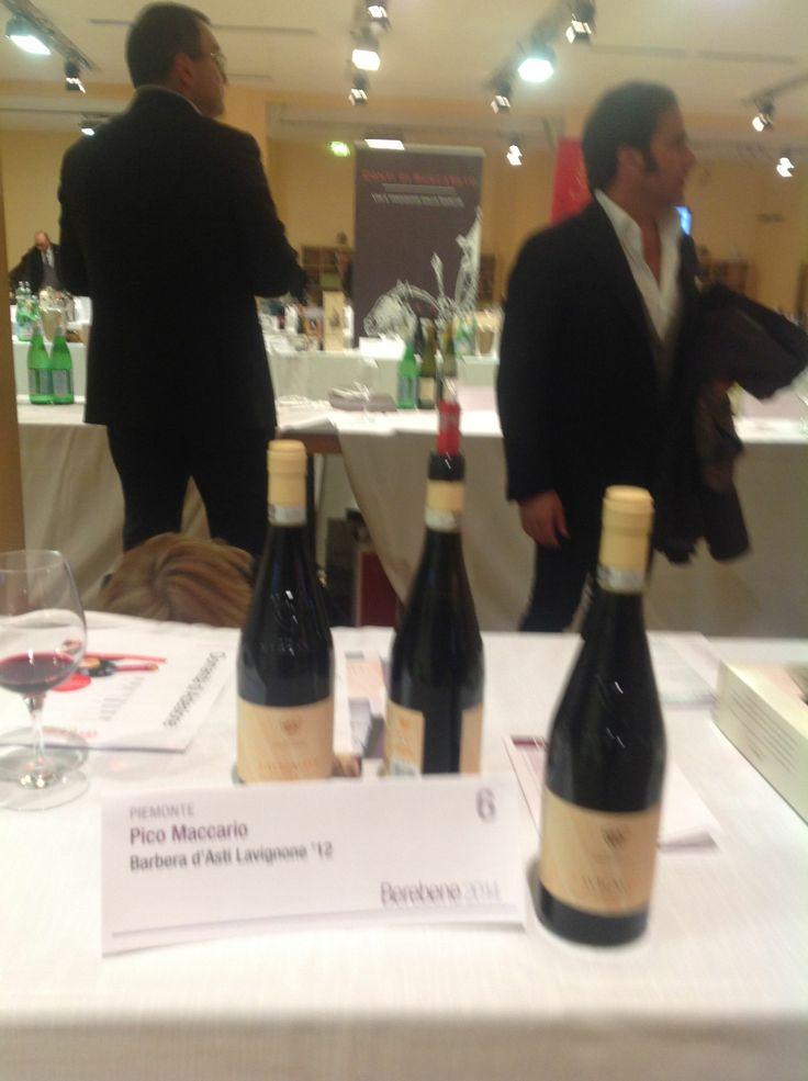 #oscar #berebene #GamberoRosso #wine #winelovers #Rome #PicoMaccario #Barbera