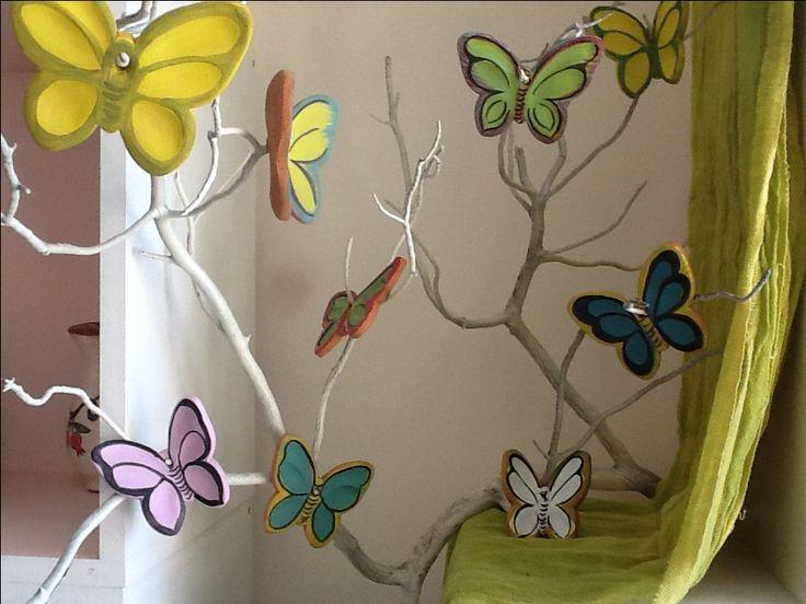 Κεραμικες πεταλούδες