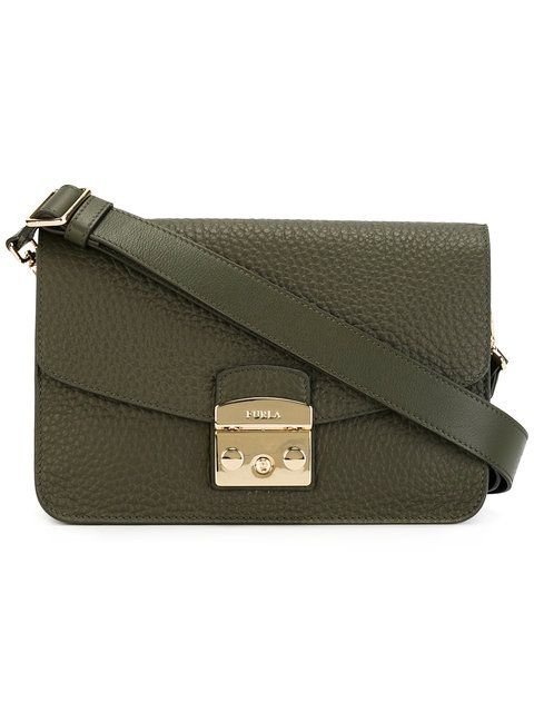 FURLA Flap Crossbody Bag. #furla #bags #shoulder bags #leather #crossbody #