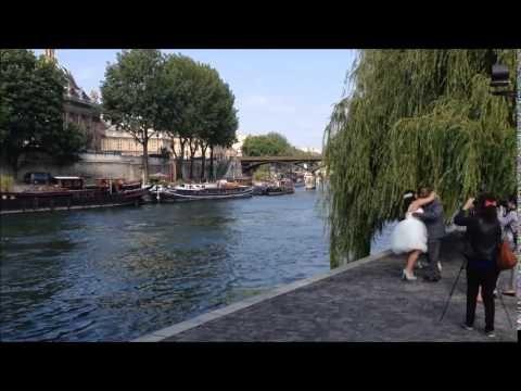 Wedding ceremony in Paris - Marla and Oscar June 2014