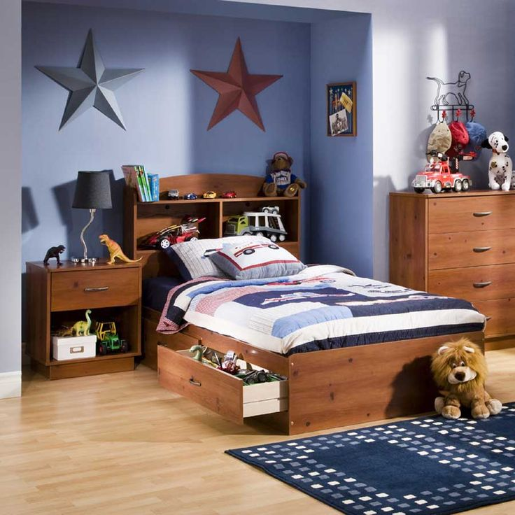 Logik Sunny Pine Kids Bedroom Collection South S Ss Set Star Dogs Toys