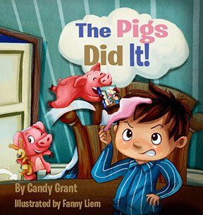The Pigs Did It!: Candy Grant, Fanny Liem