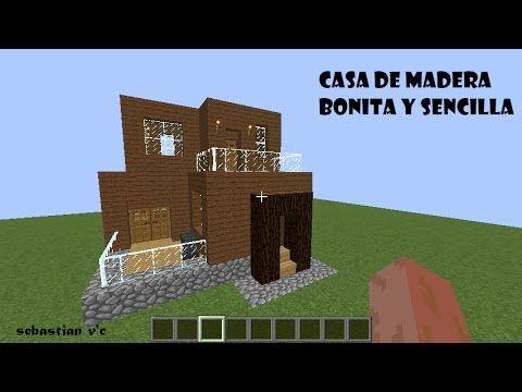 Minecraft : Casa Moderna de Madera | Facil
