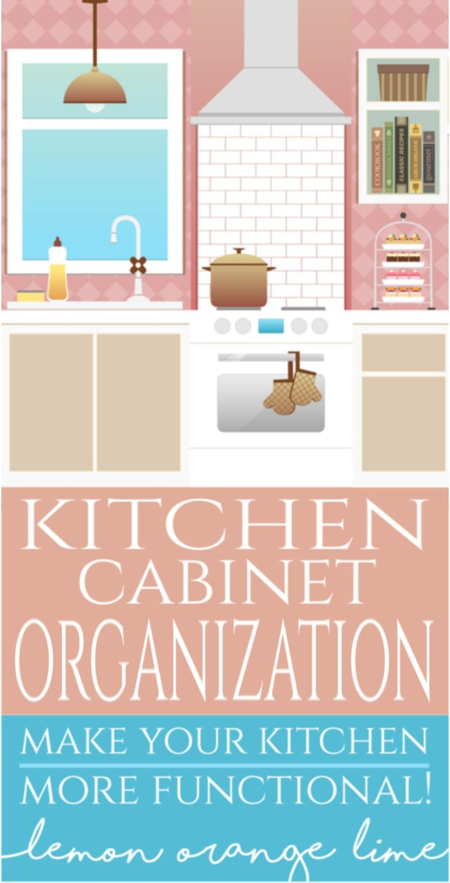 Trying to finally organize a kitchen of your dreams? Organize kitchen cabinets with this article!