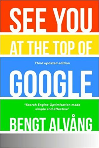 See You at the Top of Google, by Bengt Alvang, is a simple and useful manual that shows how to gain visibility and higher presence on the internet. Based on his own experience of having successfull…
