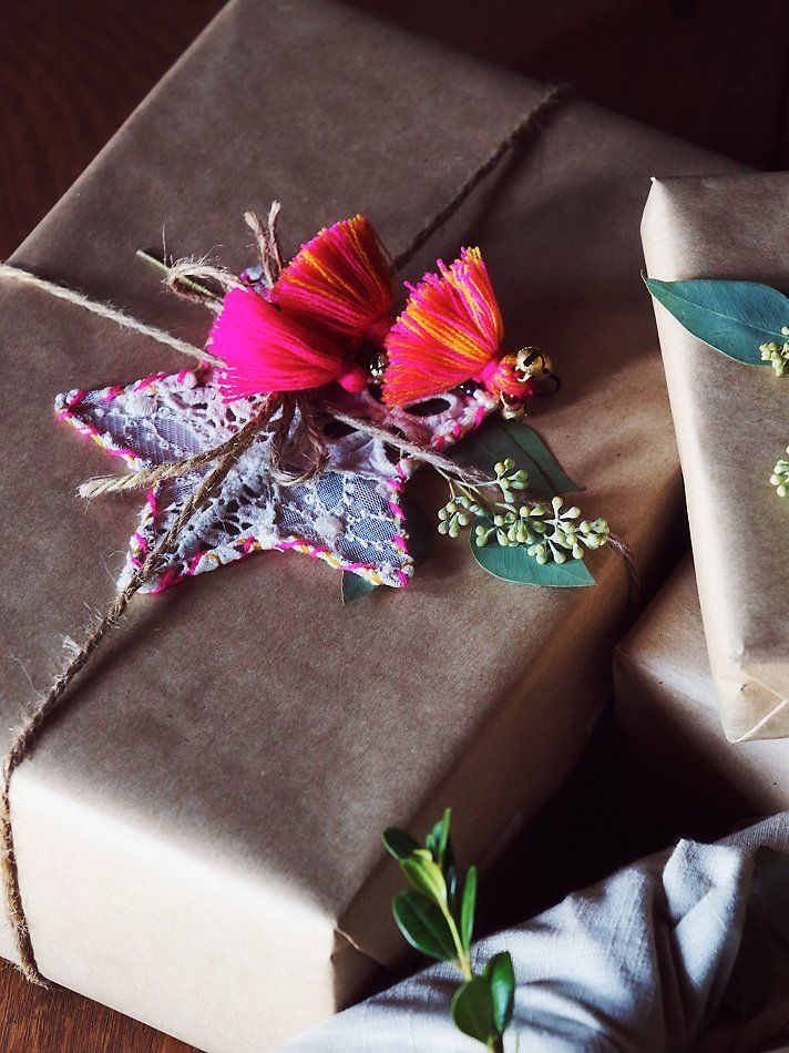 Free People Little Star Lace Ornament at Free People Clothing Boutique #bohemian christmas #boho holiday