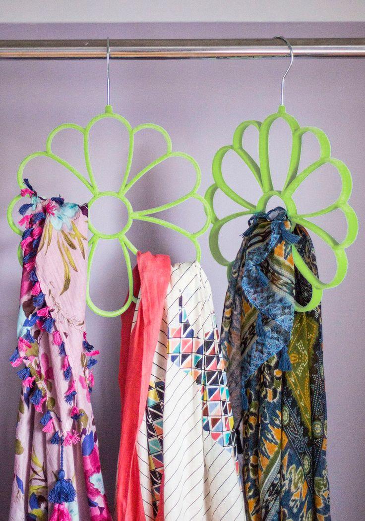 Best 25+ Scarf hanger ideas on Pinterest | Storing scarves, Scarf ...