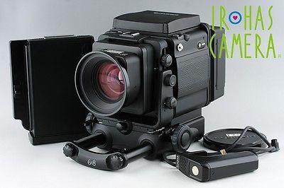 富士Gx680iiiミディアムフォーマット一眼レフフィルムカメラ+フジノンGxとメリーランド115ミリメートルF / 3.2#8981e4
