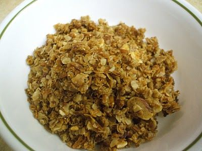 My favorite cereal is made from the organic company Nature's Path. Unfortunately, it costs about 5-6 bucks a box and with the way that I devour it, one box only makes two servings. I found a recipe for a copycat version! Hope you guys fall in love with it as much as I did-Nicki