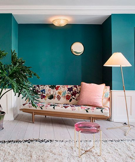 Colorful Rooms - Instagram Photos | Ten of our favorite colorful rooms on Instagram. #refinery29 http://www.refinery29.com/instagram-colorful-rooms