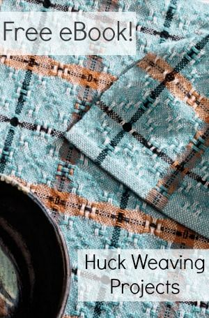 Huck lace is a beautiful, versatile weave structure, perfect for towels. Learn all about how to weave huck lace and get free huck lace weaving patterns here!