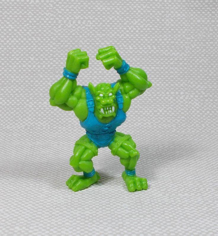 Monster Wrestlers In My Pocket - W21 Gargoyle - Mini Figure - 2.25  Tall