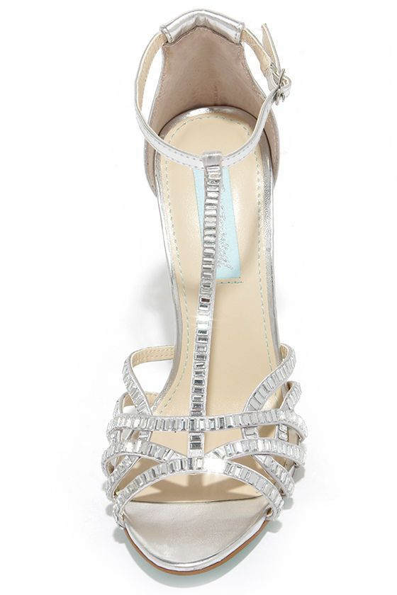 a2a3f93cb What better way to standout and shine than in the Blue by Betsey Johnson  Ruby Silver