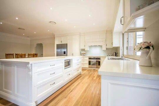 #kitchen inspiration #white #wood #home
