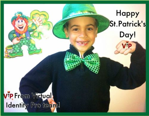 Happy St.Patrick's Day from Virtual Identity Pro Team