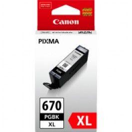 Canon PGI-670XLBK Black Ink Cartridge High Yield