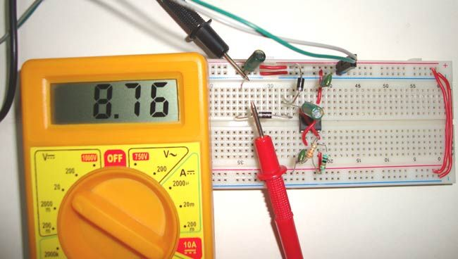 555 Timer Circuit Electronic Roulette Wheel
