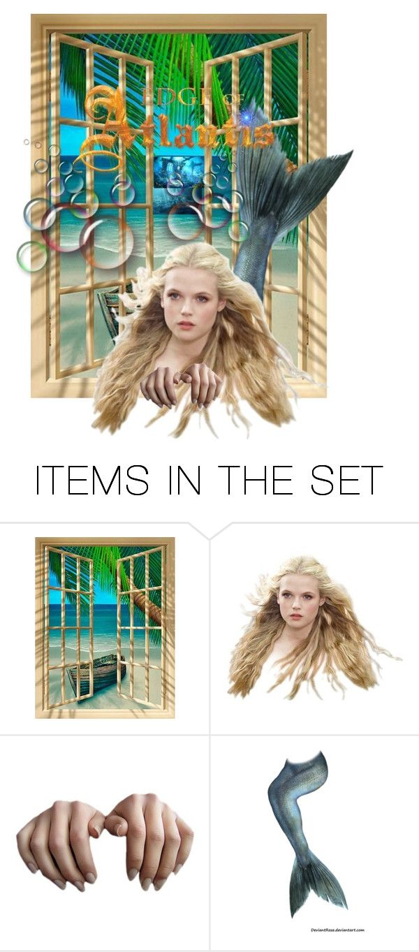 """Vacation from Atlantis"" by kristina-lindstrom on Polyvore featuring art"