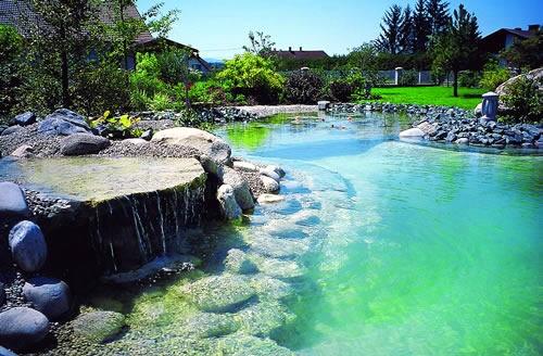 Exotic natural swimming pool for Piscinas naturales