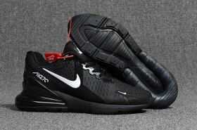 68dda3eeb1403 Nike Air Max Flair 270 KPU Black White Women's Men's Running Shoes Sneakers