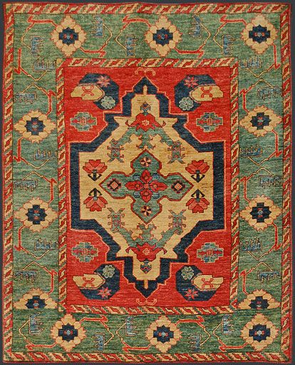 I would  love this or something like it in my family room. Afghan Kazak Oriental Rug #38455